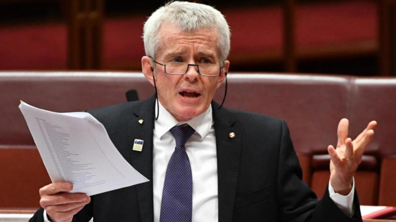 """Австралискиот сенатор одржува """"еден од најдобрите политички говори досега"""
